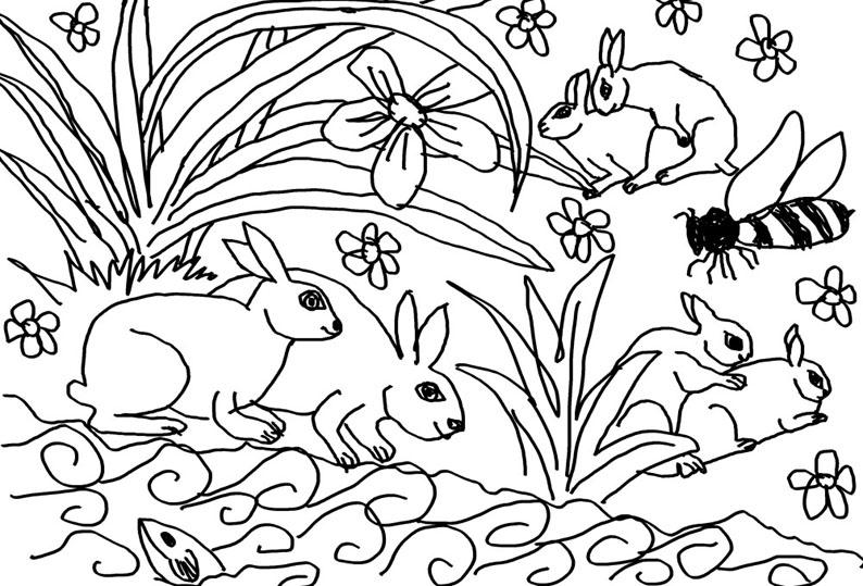Bier, Blomster og Kaniner_1