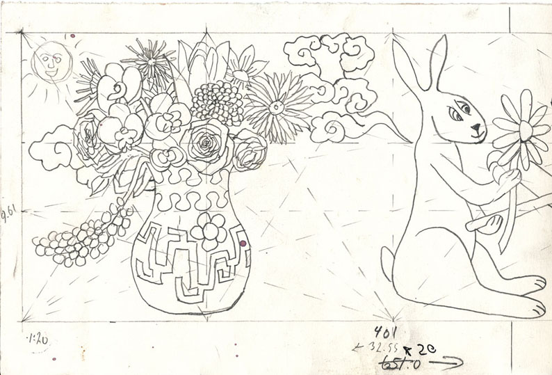 Vase og Kanin_1