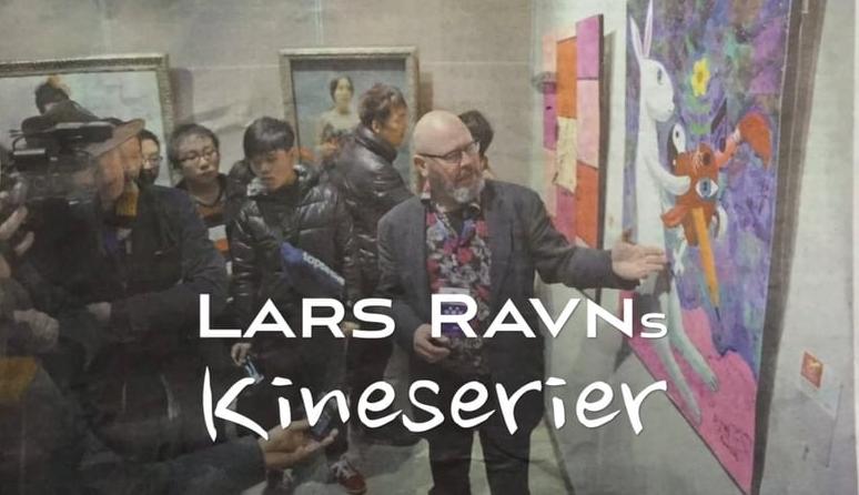 Lars Ravn udstiller og underviser i Kina